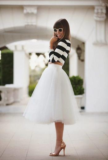 Красивые юбки для создания шикарного осеннего образа