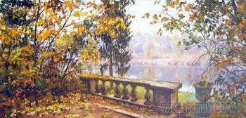 Тихонько бродит по аллеям осень
