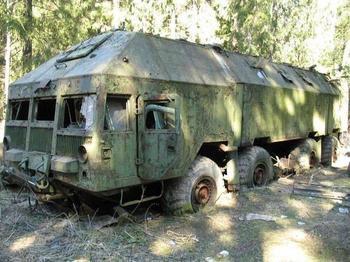 Бункер на колёсах, защищённая машина «Редут»