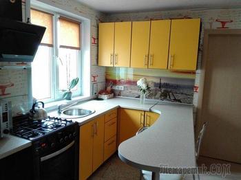 Перестроили дом и сделали ремонт меньше чем за 8 тысяч