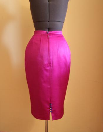 Как вшить простую застёжку-молнию в юбку