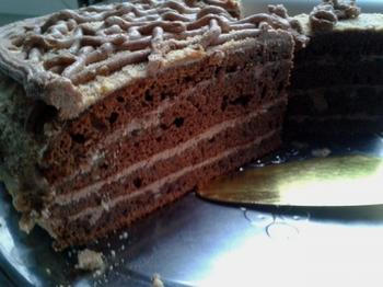 Торт Прага - готовим дома