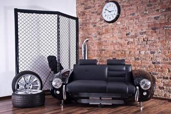 5 оригинальных идей для стильного интерьера из старых автозапчастей
