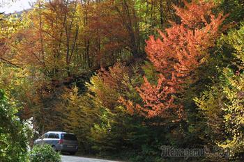 Осенняя  прогулка по Большому каньону Крыма