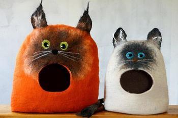 Идеи домиков для кошек