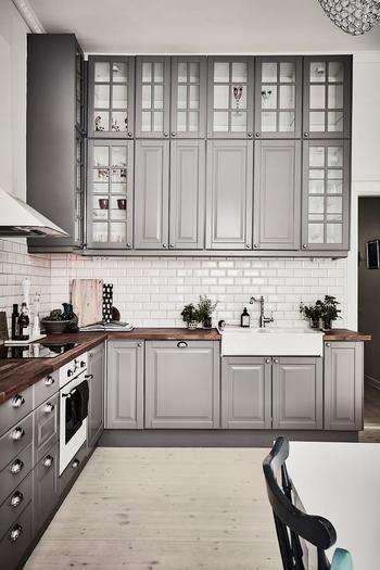 Под кирпич: стильные кухонные фартуки из керамической плитки