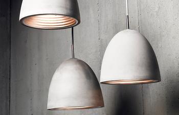 Бетонные лампы своими руками