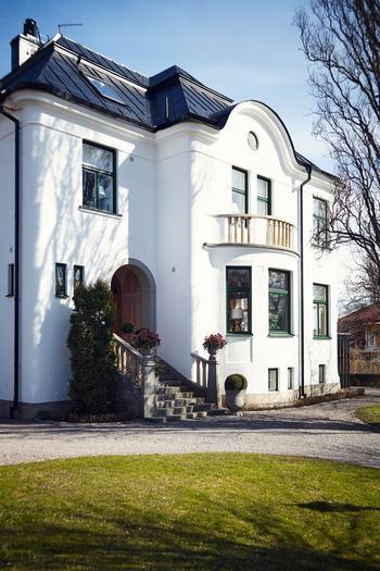 Великолепный старинный особняк в Стокгольме