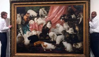 Коты за миллионы: 6 картин с мурлыками, проданных на аукционах на баснословные суммы