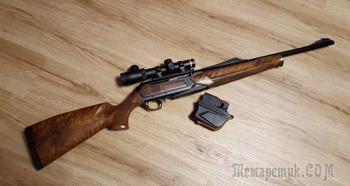 Самозарядный карабин Browning BAR Zenith с рычагом ручного взведения курка для загонных охот на крупных копытных