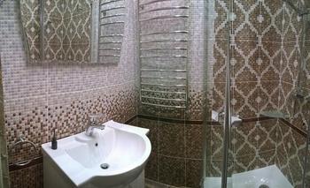Ванная: ремонт в бывшей коммуналке послевоенной постройки с 3-метровыми потолками