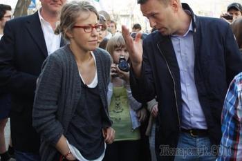 Навальный и Собчак выясняют, кто из них хуже