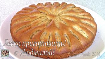 Самый простой пирог с яблоками