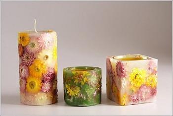 Изготовление многогранных свечей