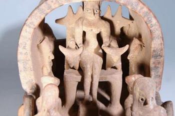 Древний «летающий корабль» неизвестной цивилизации. Версия об инопланетянах