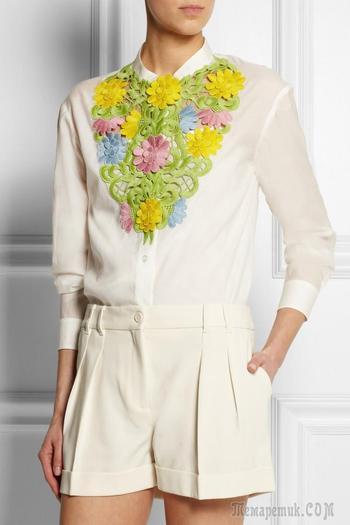 Изящное украшение: декор одежды кружевом