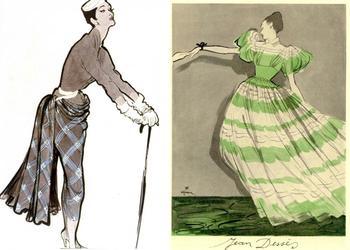 Последний рыцарь парижской моды: как аристократ Рене Грюо стал культовым модным иллюстратором