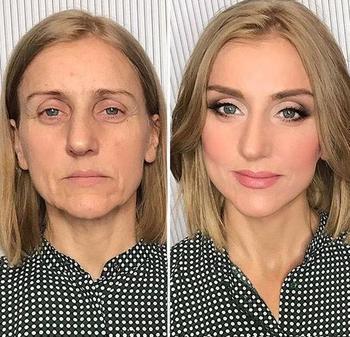 Этот российский визажист так преображает женщин при помощи макияжа, что вы их не узнаете