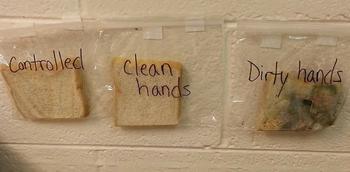 Отвратительно, но эффективно: Как научить детей мыть руки