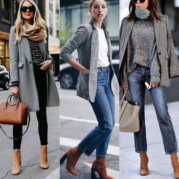 Модные образы на каждый день осень-зима 2018-2019