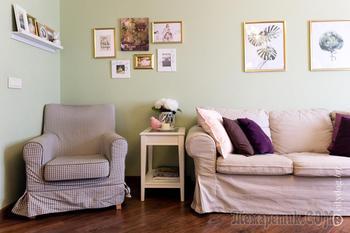 4-комнатная квартира с напольным покрытием для террас и котиком