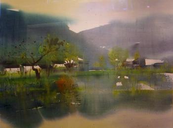Художник Чжао Чжицян / Zhao Zhiqiang (Китай, 1959)