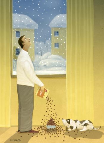 Невозможно посмотреть на эти 17 иллюстраций и не захотеть завести собаку