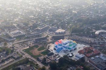Центр развлечений LEGO House в датском Биллунне