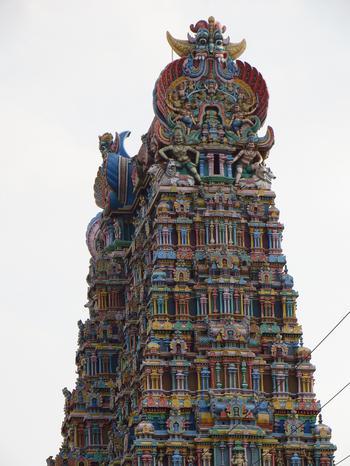 Храм Минакши: один из центров паломничества в Индии