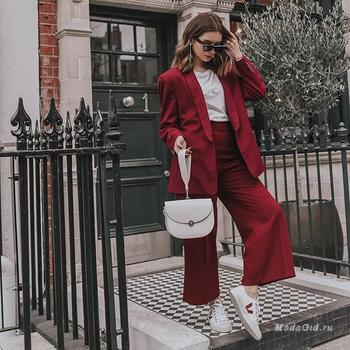 Осенние аутфиты лондонской красавицы Lolita Masagutova