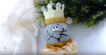 """Елочные шарик """"Мышиный король"""""""