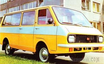 Универсальный латыш: как РАФ-2203 смог стать самым массовым микроавтобусом СССР