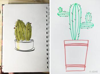 Тест: Нарисуйте кактус, и вы удивитесь тому, как точно мы опишем ваш характер