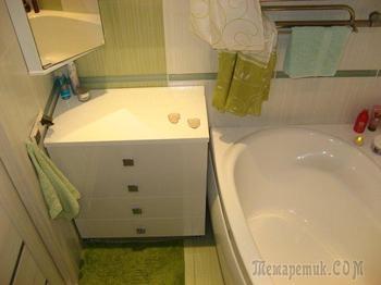 Ванная: ремонт делал офисный работник