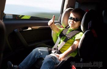 5 популярных уловок недобросовестных полицейских для водителей с детьми