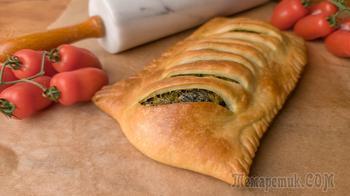 Пирог с луком – пореем