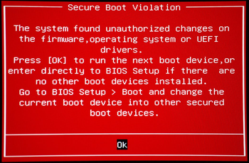 Secure Boot – что это за утилита и как её отключить
