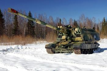 Российские военные показали на видео стрельбу лазерными снарядами