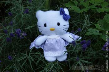 Создание мягкой игрушки - Hello Kitty ангел