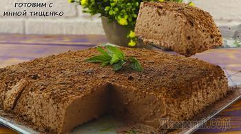Нежный и воздушный десерт из ряженки