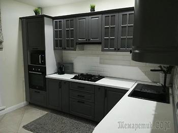 «Дизайнер отговорила нас от черных фасадов»: моя кухня