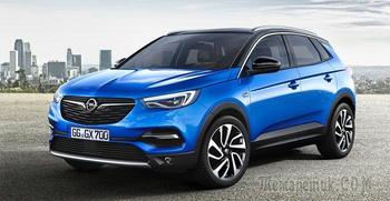 Opel Grandland X – старший брат Crossland X