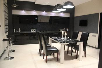 Кухня, метраж которой 25 м.кв