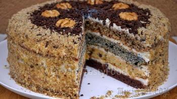 """Изумительно Вкусный Торт """"Дамский каприз"""" или Торт """"Сметанник"""""""