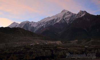 Непал. Гималаи. Трек вокруг Аннапурны. 15. Джомсом (2800) - Покхара (900 м)
