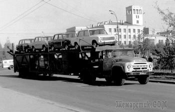 Автовозы, обычные и не очень: как и на чем перевозили автомобили в СССР