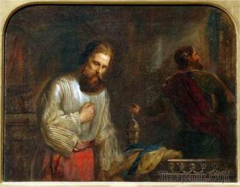 """Кто такие""""мытарь"""" и """"фарисей""""? Размышления на тему... и картины  разных художников"""