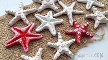 Холодный фарфор. Морские звезды своими руками