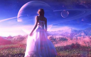 Она пришла с другой планеты (Стих)