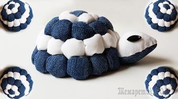 Делаем очень лёгкую в изготовлении декоративную черепашку